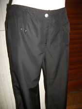 Pantalon Transformable pantacourt noir satiné COP COPINE LAC 38F 10uk 15ETPF11