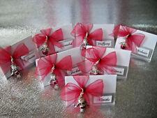 10 Kartonagen Dreieck zum Befüllen für Gastgeschenke Tischkarten Hochzeit Taufe