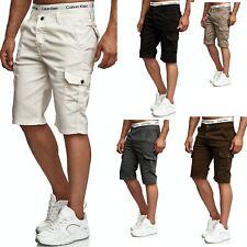 .Herren Bermuda Jeans Shorts Stretch Denim Kurze Capri Hose Sommer 028. SCHWARZ