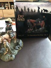Lord Of The Rings -Fellowship Of The Ring Set 3 Polystone Statue Weta
