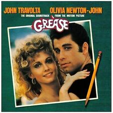GREASE: ORIGINAL FILM SOUNDTRACK OST CD JOHN TRAVOLTA / OLIVIA NEWTON-JOHN / NEW