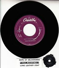 "PAUL McCARTNEY Hope Of Deliverance BEATLES 7"" 45 record + juke box strip NEW"