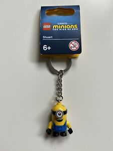LEGO Minions The Rise Of Gru Stuart Keyring (854071) BRAND NEW WITH TAGS!