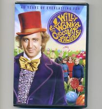 Willy Wonka & The Chocolate Factory 1971 Gene Wilder new DVD movie G musical