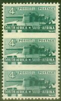 South Africa 1942 4d Slate-Green SG103 Fine & Fresh Lightly Mtd Mint