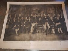 The Illustrious sons of Ireland print  historical figures print printed 1917