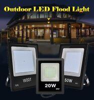 LED Flood Light 100W 50W 30W 20W 110V Outdoor Garden Lamp Spotlight Cool White