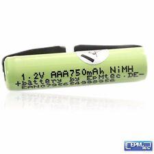 750 mAh Ersatzakku F Marrone Pulsonic Slim Batteria NiMH Oral-B 44mm MANUALE