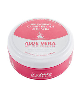 Aloe Vera Canary Islands - Mosqueta Rose oil - Regenerative - 50 ml face & body