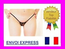 STRING LEOPARD SEXY TAILLE UNIQUE FEMME HOMME TRAVESTI ref 9263