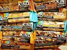 76 KIND BAR FRUIT NUT PROTEIN NUTRITION SNACK ENERGY BARS 5 FLAVR GLUTEN FREE SH