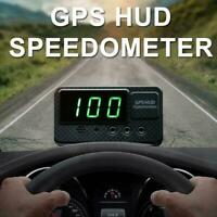 C60S Digital Car GPS Speedometer Speed Display Motorcycle KM/h Black MPH A5B9