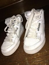 Osiris Kids Athletic Shoes High Top White Sz 3 M
