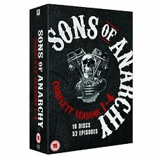 Sons of Anarchy The Complete Seasons Series 1 2 3 4 DVD Boxset R4 CLEARANCE