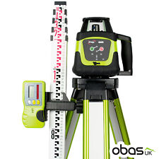 Imex 66R Rotating Laser Level Kit Includes Tripod, Staff & Receiver