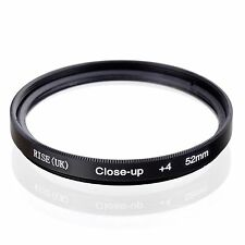RISE(UK) 52mm Macro Close-Up +4 Close Up Filter for All digital cameras