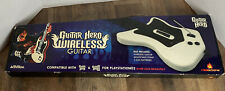 Guitar Hero Wireless Guitar for PS2 + Dongle + Strap + Game