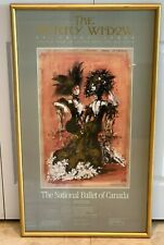 National Ballet of Canada Poster by Desmond Heeley and Signed by John Lanchbery
