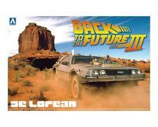 Kit Delorean ritorno al futuro III Back to The Future 1/24 Aoshima 011874 01187