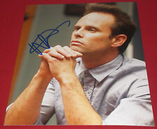 WALTON GOGGINS SIGNED JUSTIFIED BOYD IN THOUGHT STILL 8X10 PHOTO AUTOGRAPH COA