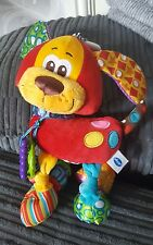 Play gro my first pookie puppy dog babies hanging activity toy teether rattle