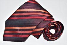 Men's Hugo Boss  Orange Silk Neck Tie made in Italy