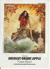 Absolut Orient Apple 2011 Absolut Vodka print ad