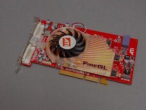 As New ATI Firegl Fire Gl X3 AGP Graphic Card 377846-002HP Spare P/N 404563-001