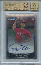 2012 Bowman Chrome Yu Darvish RC Auto Autograph BGS 9.5/10