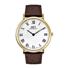 AWI Gold plated MEN'S WATCH