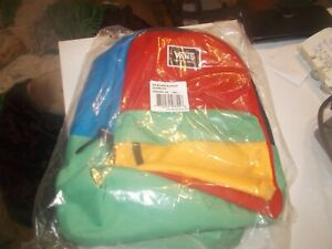 Vans Bounds Small Backpack Colorblock children's backpack yellow/green/blue/red