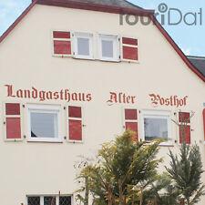 Hunsrück 4 Tage Urlaub Halsenbach-Ehr Hotel Alter Posthof Gutschein Halbpension