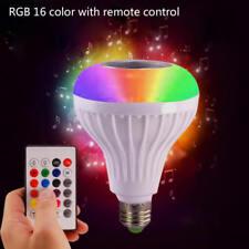 RGB LED Color Bulb Light E27 Bluetooth Control Smart Music Audio Speaker JUY