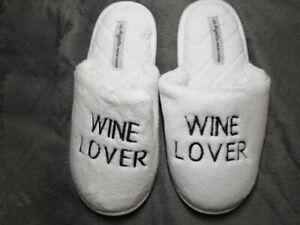 Wine Lover Slippers
