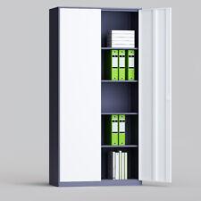 Metal Two Door Office Filing Cabinet 5 Layers Steel File Storage Cupboard