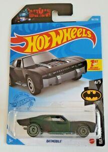 Hot Wheels Batmobile Black #181 181/250 2021 Batman 4/5