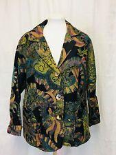 Parsley & Sage Tapestry Brocade Jacket Women's 1X
