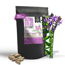 Astragalus Extrakt | 120 KAPSELN | laborgeprüft | vegan ohne Zusätze tragant
