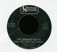 THE SHAGGY BOYS Behind These Stained Glass Windows on UA Pop Psych 45 Hear