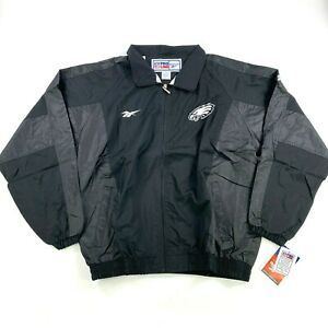 NEW NWT VTG Philadelphia Eagles 1992 Reebok PRO LINE Jacket Coat Windbreaker NFL