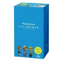 12 typ Nano-block Mini Pokemon Series 02 NBMPM/_ 02 S BOX Item 1 BOX = 12 pieces