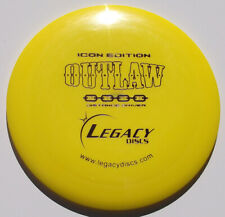 Legacy Icon-Edition Outlaw 166.86 Grams Bright Yellow w/Purple Hot-Stamp