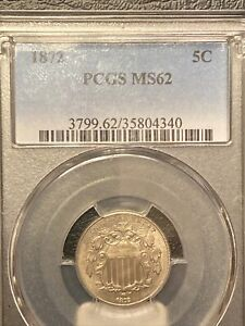1872 Shield Nickel Super Rare DDO MPD. S2-7007