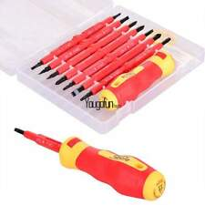 Multi-purpose 7pcs Electrician's Insulated Electrical Hand Screwdrive Tool Set