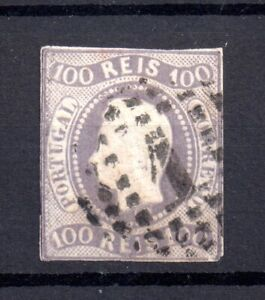 Portugal 1866 100R King Luis SG45 used Cat Val £170 WS20572