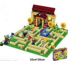 Bricks Toys Plants vs Zombies Garden maze DIY Toys for Kids Building Blocks NEW