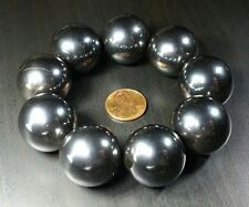 4 (Four) Large Rare Earth Hematite Singing Magnets 1