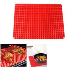 Silicone BBQ Grill Mat Non-Stick Baking Pyramid Pan Oven Tray Baking Sheet Mat