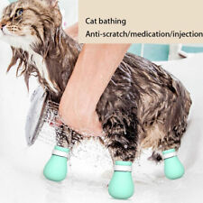 New listing Anti-biting Bath Washing Cat Claw Cover Cut Nails Foot Cover Pet Paw Protecto Hn