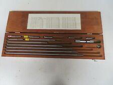 Starrett Model Custom 4 34001 Inside Micrometer Set On52